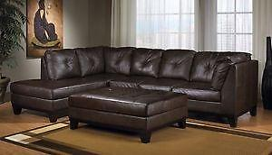 Store wide Super SALE! @ Real Buy furniture BRAND NEW  Sectional W/ Free Ottoman $899