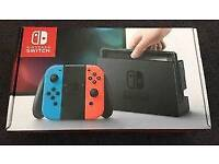 Nintendo Switch Console [Boxed] with Carry Case