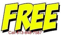 FREE SCRAP METAL And APPLIANCE PICKUP TextCallEmail 613-848-7587