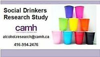 Social Drinkers Wanted for a Research Study (Age 18-21)