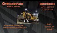 CNR Earthworks Bobcat Service