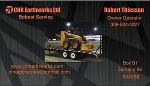 CNR Earthworks Bobcat Service Regina Regina Area image 1