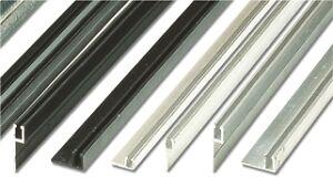 Supporto-In-Alluminio-guaina-Per-Spazzola-Lineare-Profilo-Dritto