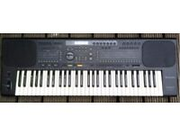 Technics SX-KN800 Synthesizer, Keyboard, Organ,Piano plus Music Stand Rhythms Drums 61 Note Synth
