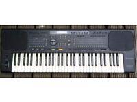 Technics SX-KN800 Synthesizer, Keyboard, Organ, Piano plus Music Stand Rhythms Drums