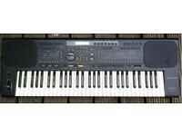 Technics SX-KN800 Synthesizer, Keyboard, Organ,Piano plus Music Stand Rhythms Drums 61 note keyboard