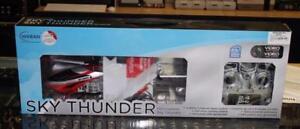 Hélicoptère téléguidé sky thunder