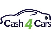 CARS WANTED FOR CASH SCRAP/ MOT FAILURES BEST PRICES PAID
