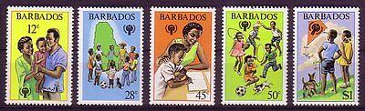 Barbados Michelnummer 489 - 493 postfrisch  (intern: 18 )
