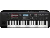 Yamaha MOX6 Workstation Synthesiser with stand - hardly used mint condition