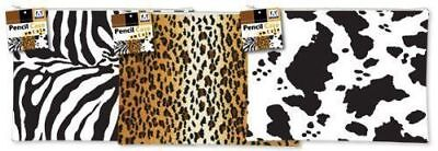 Cow Zebra Leopard Tiger Pencil Pen Case Cosmetic Make Up Bag  Pouch Stationery