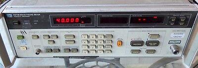 Hp Agilent 8970b 8970 10mhz-1.6ghz 30db Noise Figure Meter Measurement Opt H18