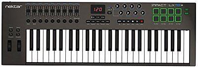 Nektar Impact Lx49  Usb Midi 49 Key Controller Keyboard Free Ship New