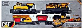 CAT Motorized Construction Express Train Set Complete