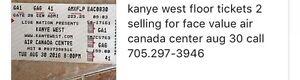 KAYNE WEST Toronto (2 tickets)