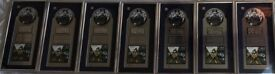 The Verve, Urban Hymns - FULL SET of 7x Record Industry Awards. Virgin Canadian Record Industry