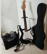 ELECTICAL GUITAR WITH AMPILIER AND ACCESSORIES Yagoona Bankstown Area Preview