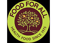 Hackney Health Food Retail Shop Manager, £25k pa, now hiring