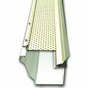 Gutter cleaning leaf guard installations