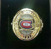Molson Beer Stanley Cup NHL Hockey Rings For Sale/