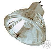 15 PK  MR-16 MR16 50W 12V 12 Volt HALOGEN FLOOD LAMP BULBS 12 Volt Mr16 Halogen Flood