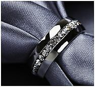 Jewelry Engagement Wedding Gift Ring Channel-Set Eternity