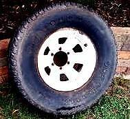Toyota Land Cruiser wheel and tyre Mitcham Whitehorse Area Preview