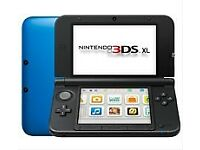 Blue Nintendo 3DS XL
