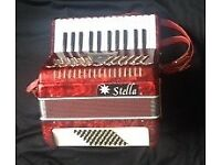 48 Bass Piano Accordion-Stella brand