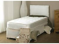 Delivered Direct To Your Home‎ Brand New Single Bed + Deep Quilt Mattress - same day delivery