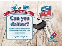 Domino's Pizza Moped Delivery Drivers PART-TIME/FULL-TIME