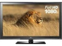 LG 42 INCH LCD FULL HD TV WITH BUILT IN FREEVIEW **DELIVERY IS POSSIBLE**