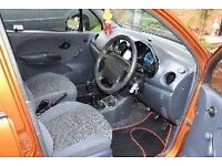 Daewoo Matiz 2002 SE 796cc. Excellent condition for age £475.00