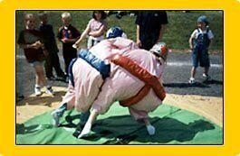 Adult sumo wrestling