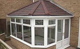 Conservatory Roof tiles or glass