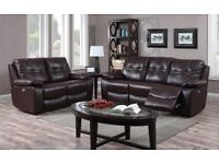 ROCKPORT ELECTRIC POWER RECLINER 3+ 2 WITH FREE 1 SEATER!!!!