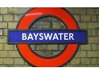 Single Studio Flat to Let In Bayswater