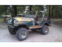 WANTED JEEP CJ project 1960-1995 Any condition