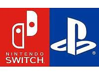 Looking for Nintendo Switch/PS4 Games