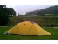 Vango Odyssey 2-Person 4-Season Geodesic Tent