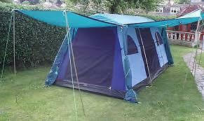 Coleman Sahara 8 Tent Inner And Poles Only In Trafford
