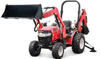 Small tractor services