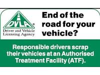 cars and vans bought for cash with or without mot