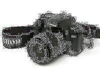 Canon EOS 450D / Rebel XSi 12.2 MP Digital SLR Camera - Black (Kit w/ EF-S IS 18
