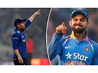 India vs England 1st T20 Ticket x2 Manchester Old Trafford 03/07/18
