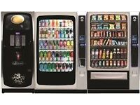 Free on loan Vending Machines 100 plus Staff to Qualify (East Midlands Only)
