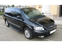 MPV Charysler Grand Voyager seven seater - genuine bargain