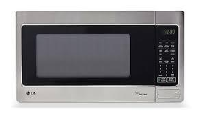 Micro-ondes 1,5 pi³ Stainless LG ( LMS1531ST )