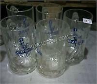 Lot of 5 Steam Whistle Beer Mugs