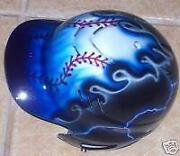Airbrushed Softball Helmet